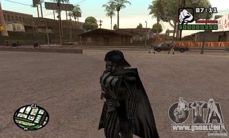 Darth Vader für GTA San Andreas dritten Screenshot