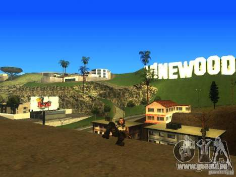 Animation Mod für GTA San Andreas neunten Screenshot