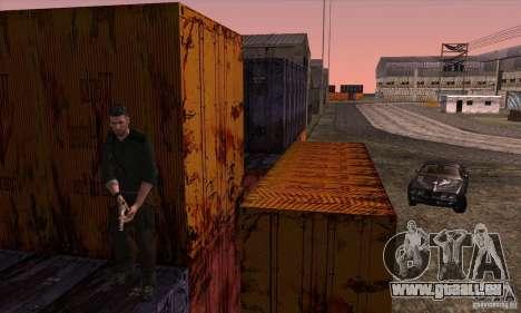 Sam Fisher pour GTA San Andreas septième écran