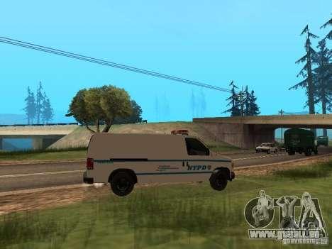 Ford E-150 NYPD Police pour GTA San Andreas vue de droite