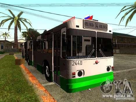 ZiU 683 pour GTA San Andreas laissé vue
