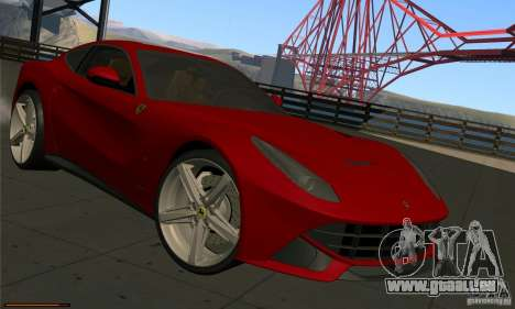Ferrari F12 Berlinetta BETA für GTA San Andreas linke Ansicht