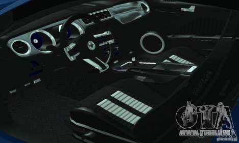 Ford Mustang Boss 302 2013 für GTA San Andreas Innenansicht