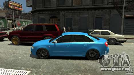 Audi S4 2000 für GTA 4 linke Ansicht