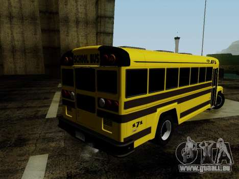 International Harvester B-Series 1959 School Bus für GTA San Andreas linke Ansicht