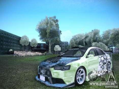 Mitsubishi Lancer Evolution X - Tuning pour GTA San Andreas