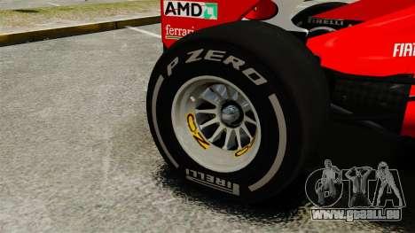 Ferrari F2012 pour GTA 4 Vue arrière