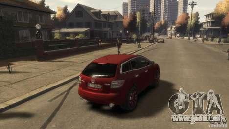 Mazda CX-7 für GTA 4 linke Ansicht