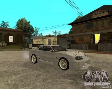 Toyota Supra M4K pour GTA San Andreas vue de droite