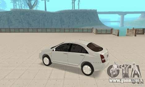 Nissan Primera für GTA San Andreas Rückansicht