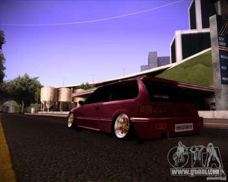 Honda Civic EF9 Hatch Stock für GTA San Andreas linke Ansicht