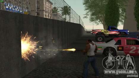 Overdose Effects v1.5 pour GTA San Andreas deuxième écran