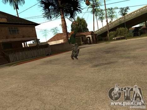 Lames de lancer pour GTA San Andreas troisième écran