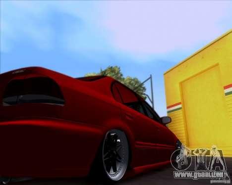 Honda Civic 16 LK 664 pour GTA San Andreas vue intérieure