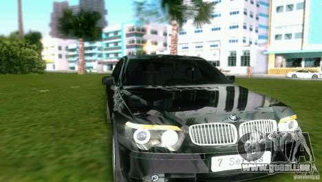 BMW 7-Series 2002 pour une vue GTA Vice City de la gauche