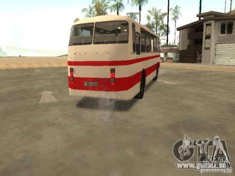 LAZ 699R 98021 pour GTA San Andreas vue intérieure