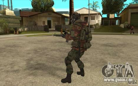 Special Forces-Flag für GTA San Andreas her Screenshot