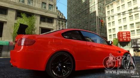 BMW M3 GTS Final pour GTA 4 Vue arrière de la gauche