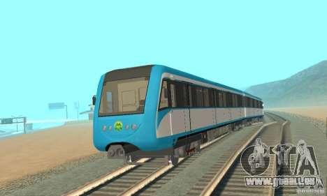 Metro 81-7021 für GTA San Andreas