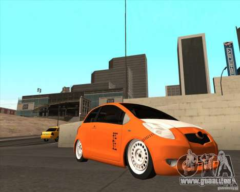 Toyota Yaris II Pac performance pour GTA San Andreas