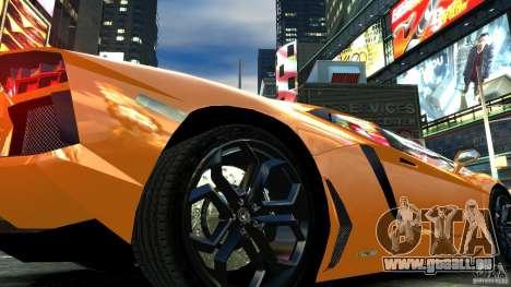 Lamborghini Aventador LP700-4 2011 EPM pour GTA 4 est une vue de l'intérieur