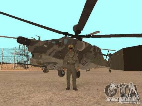 MI 28 Havok für GTA San Andreas obere Ansicht