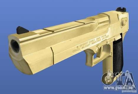 Desert Eagle Retex 1.2 Gold pour GTA 4 secondes d'écran