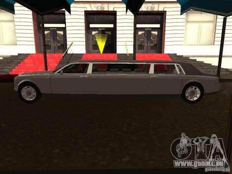 Rolls-Royce Phantom Limousine 2003 für GTA San Andreas linke Ansicht
