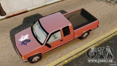 GMC Sierra 1994 pour GTA 4 est un droit