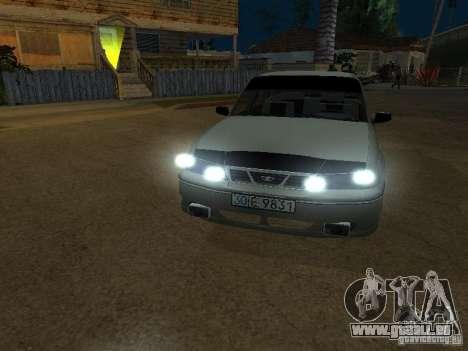 Daewoo Nexia pour GTA San Andreas vue arrière
