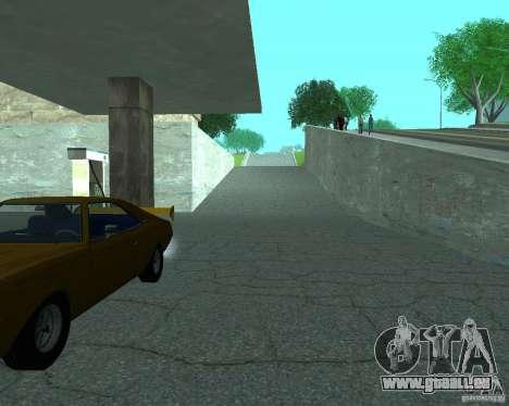 Nouveau Xoomer. nouvelle station-service. pour GTA San Andreas troisième écran