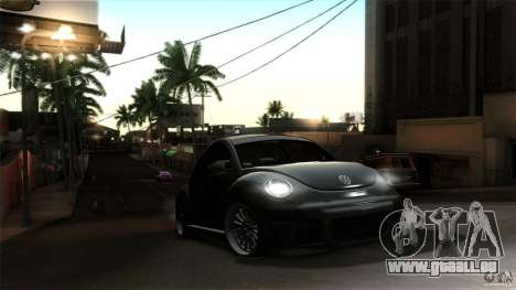 Volkswagen Beetle RSi Tuned für GTA San Andreas Seitenansicht
