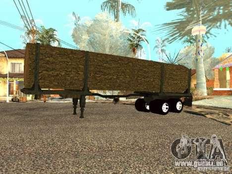 Gefällten Baumes für GTA San Andreas