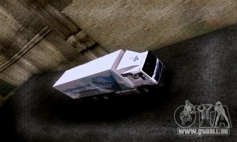 Volvo F10 pour GTA San Andreas vue de droite