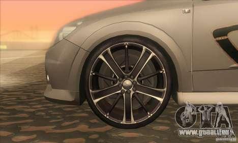Opel Astra GTC DIM v1.0 pour GTA San Andreas vue intérieure