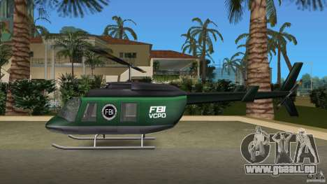 FBI Maverick pour une vue GTA Vice City de l'intérieur