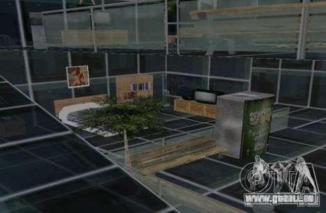 Cottage à deux étages pour GTA San Andreas quatrième écran