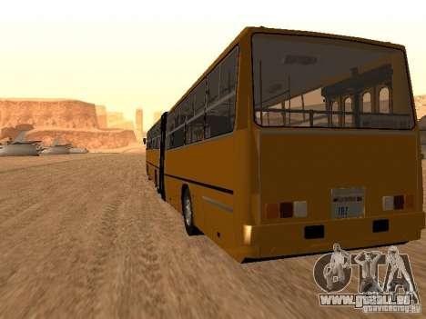 Remorque Ikarusu 280.33 pour GTA San Andreas laissé vue