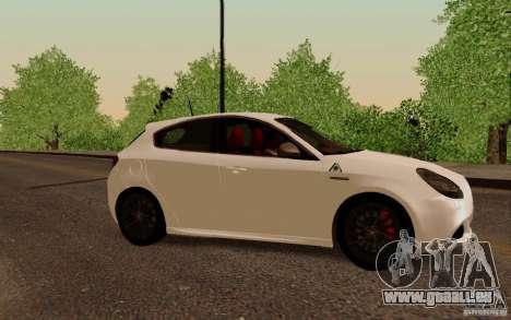 Alfa Romeo Giulietta 2010 für GTA San Andreas linke Ansicht