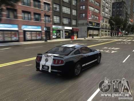 Ford Shelby GT500 2010 WIP pour GTA 4 est un côté