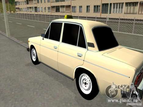 VAZ 2106 Taxi für GTA San Andreas rechten Ansicht