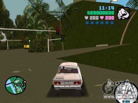 ZAZ 968 für GTA Vice City linke Ansicht