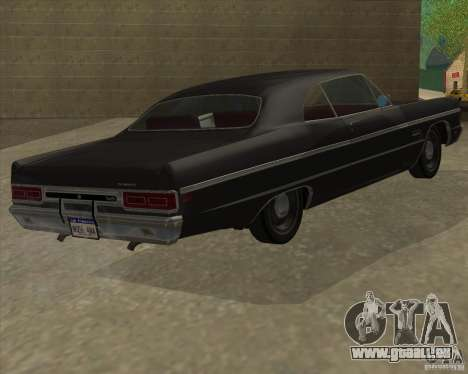 Plymouth Fury III coupe 1969 für GTA San Andreas linke Ansicht