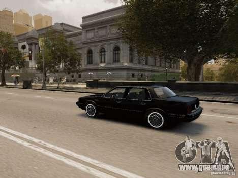Oldsmobile Cutlass Ciera 1993 für GTA 4 obere Ansicht