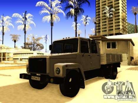 GAZ 3309 zweireihige für GTA San Andreas