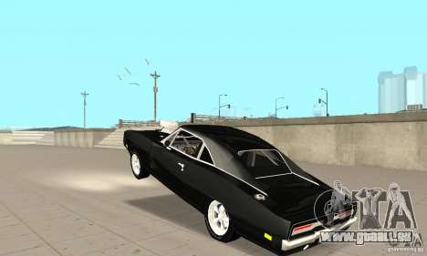 Dodge Charger RT 1970 The Fast & The Furious pour GTA San Andreas vue intérieure