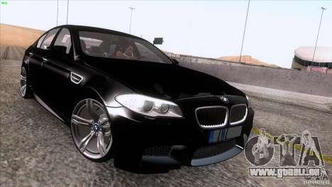BMW M5 2012 für GTA San Andreas rechten Ansicht