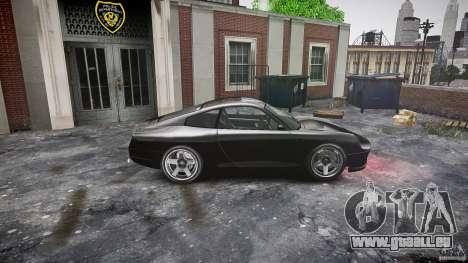 Comet FBI car pour GTA 4 est une gauche