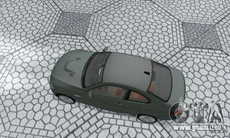 BMW M3 E92 Stock für GTA San Andreas rechten Ansicht