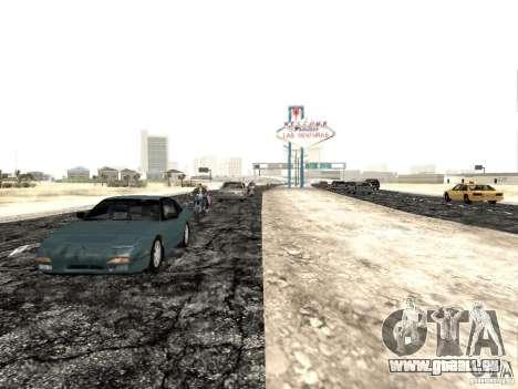 New roads in Las Venturas pour GTA San Andreas troisième écran